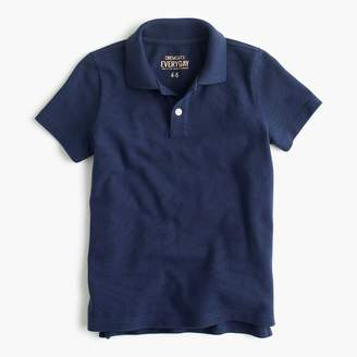 J.Crew Boys' piqué polo shirt