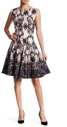 Gabby Skye Medallion Print Dress