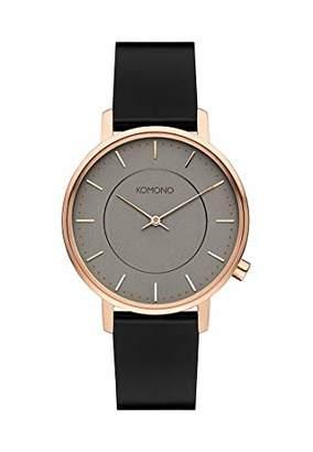 Komono Womens Analogue Quartz Watch with Leather Strap KOM-W4127