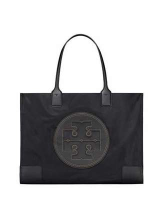 Tory Burch Ella Stud Nylon Tote Bag