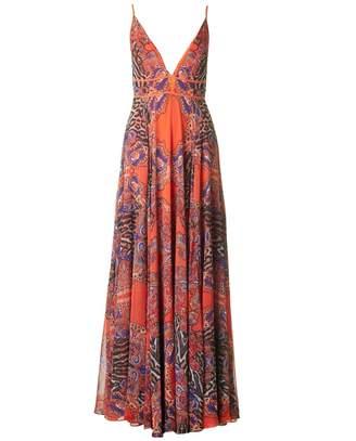 Forever Unique Tribal Print Maxi Dress
