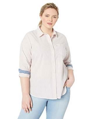 5cd9de99dcc Levi s Women s Plus-Size Ryan One Pocket Boyfriend Shirt