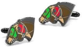 Cufflinks Inc. Cufflinks, Inc. Racing Horses Cufflinks