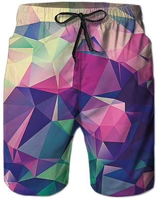 Trunks YAXAHLERT Summer Board Shorts Casual Beach Liner Joggers Sweat Shorts Swimsuit L