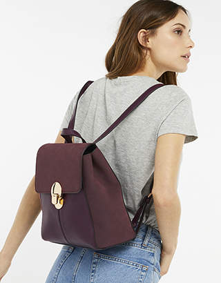 Accessorize Tessa Lock Backpack