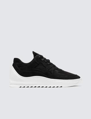 Filling Pieces Low Plasma Heel Cap Sneaker