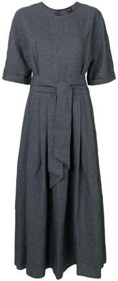 Aspesi belted long dress