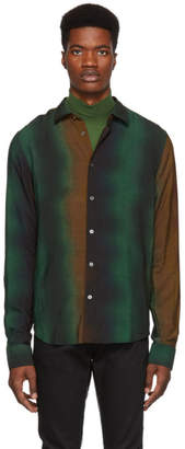 Paul Smith Multicolor Wool Degrade Slim Shirt