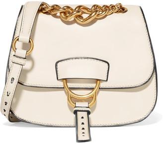 Dahlia Leather Shoulder Bag - White