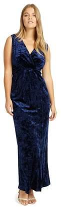 Studio 8 Sizes 12-26 Navy Katie Maxi Dress
