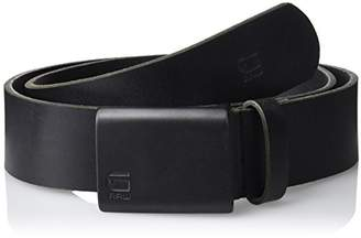 G Star G-Star Men's Cart Belt Matt Black, (Size: 85)