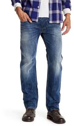 "Diesel Safado Slim Fit Distressed Straight Leg Jeans - 30\"" Inseam"