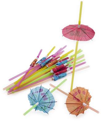 Sur La Table Tropical Umbrella Straws