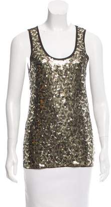 MICHAEL Michael Kors Sleeveless Sequin Top
