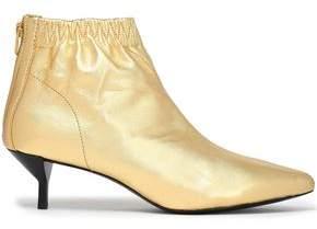 3.1 Phillip Lim Blitz Metallic Leather Ankle Boots