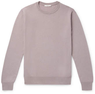 The Row Benji Slim-fit Cashmere Sweater - Lilac