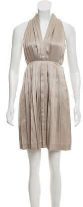 Stella McCartney Pleated Knee-Length Dress