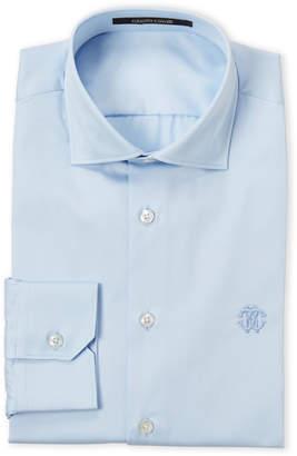 Roberto Cavalli Light Blue Comfort Fit Dress Shirt