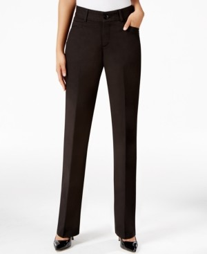 Macy's Lee Platinum Madelyn Straight-Leg Trousers