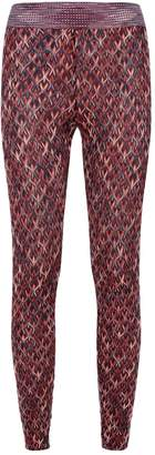 Missoni Knitted Wave Leggings
