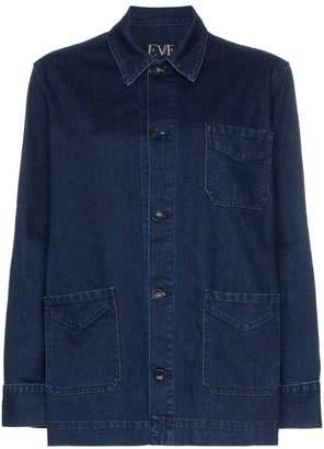 Lee Eve Denim oversized denim jacket