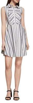 BCBGeneration Striped Shirt Dress