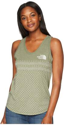 The North Face Printed Tri-Blend Tank Top Women's Sleeveless