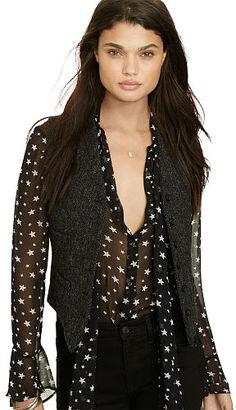 Ralph Lauren Denim & Supply Wool Button-Front Vest $165 thestylecure.com