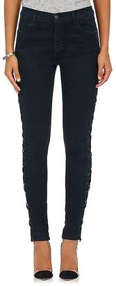 J Brand Women's Lace-Up Skinny Jeans $378 thestylecure.com
