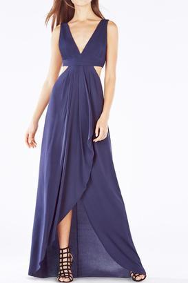 BCBG Max Azria Knit Evening Dress $365 thestylecure.com