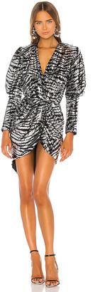 GIUSEPPE DI MORABITO Zebra Stripe Dress
