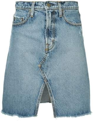 Nobody Denim Piper denim skirt