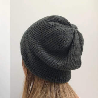 33246f74377e6 Little Knitted Stars Ladies Knitted Winter Slouch Hat