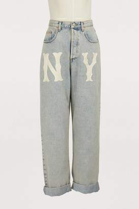 Gucci NY wide jeans