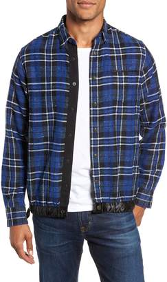 Good Man Brand Slim Fit Tartan Shirt Jacket