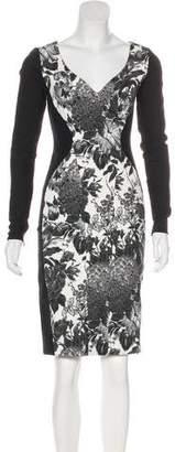 Stella McCartney Floral Print Knee-Length Dress