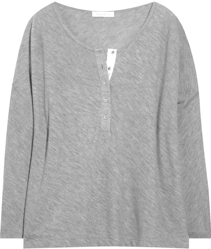 Sandro Toupie wool-jersey sweater
