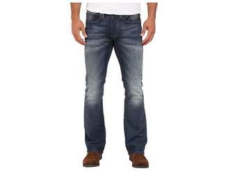 Buffalo David Bitton King Slim Boot Sheeba Stretch Denim in Light/Blasted Wash Men's Jeans