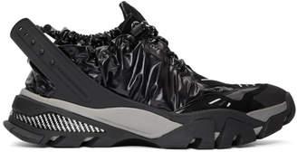 Calvin Klein Black Nylon Carsdat 8 Sneakers