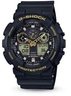 G-Shock Accented Chronographic Strap Watch