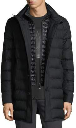 Moncler Vallier Quilted Down Coat