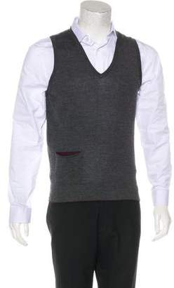 Paul Smith Wool-Blend Knit Vest