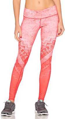 alo Airbrush Legging in Coral $96 thestylecure.com