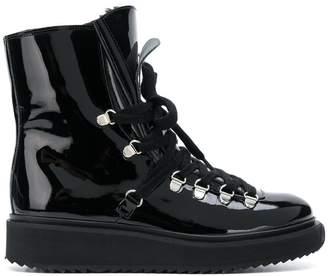 Kenzo Alaska fur-lined boots