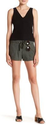 Unionbay Candace Linen-Blend Short (Juniors) $32 thestylecure.com