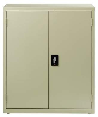 Hirsh Industries Ready-To-Assemble Storage Cabinet 3 Shelf 18Dx36Wx42H, Putty
