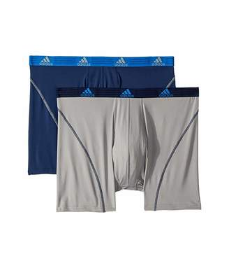 adidas Big Tall Sport Performance Climalite(r) 2-Pack Boxer Brief