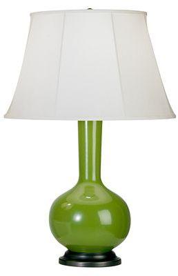 Robert Abbey Devon Table Lamp, Green