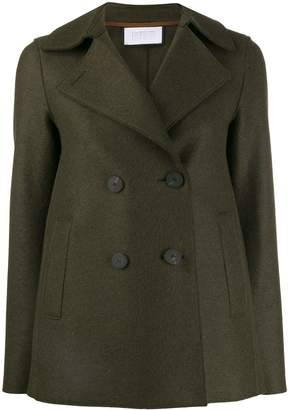 Harris Wharf London fitted double-breasted blazer