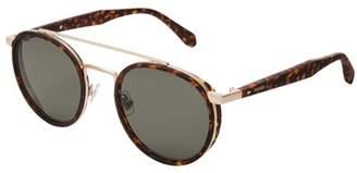 Fossil Calihan Aviator Sunglasses Accessories S0N9